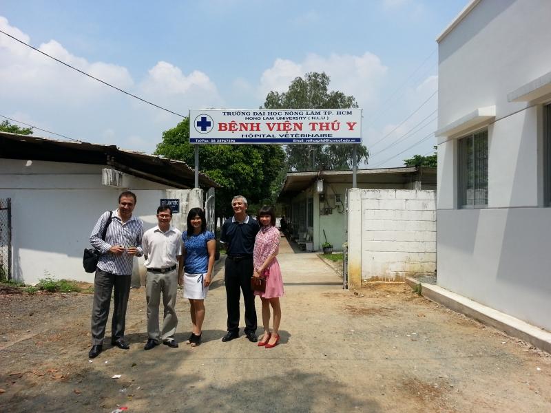Bệnh viện thú y trường Đại học Nông Lâm TP.HCM