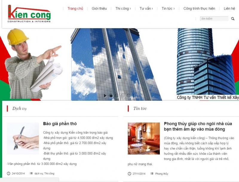Công ty tư vấn thiết kế xây dựng Kiến Công