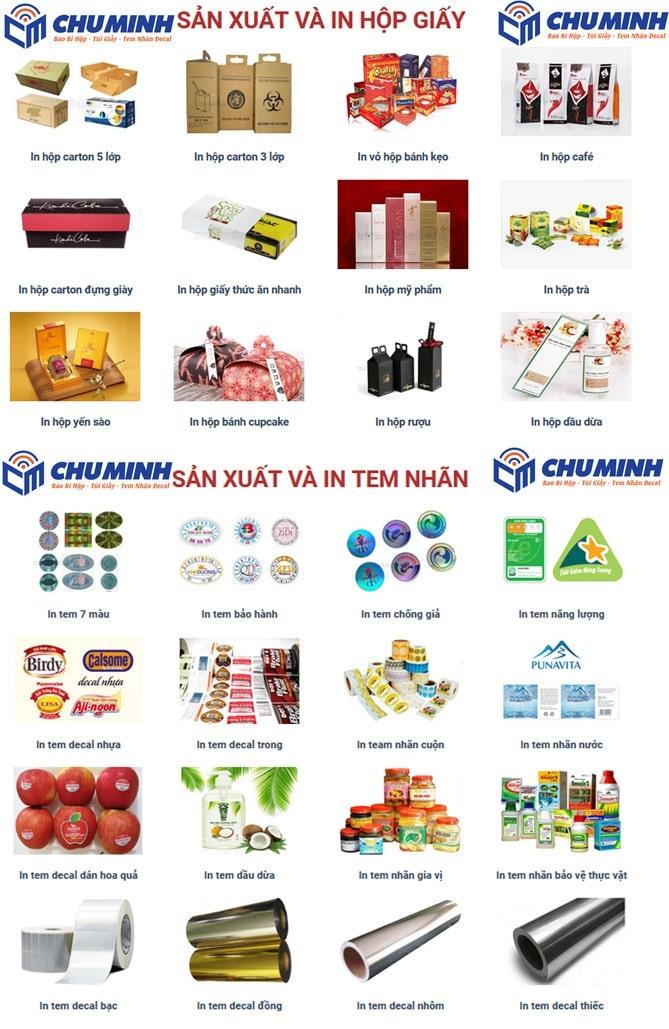 Xưởng in ấn Chú Minh