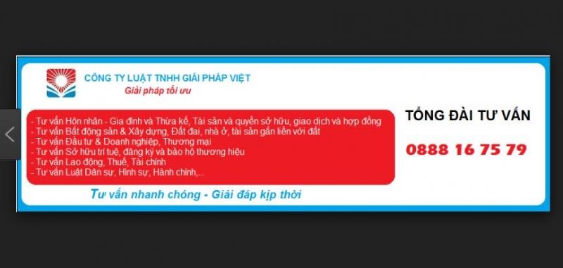 Công Ty Luật TNHH Giải Pháp Việt