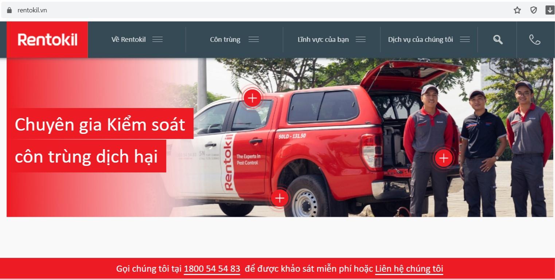 Công ty Diệt Công Trùng Rentokil Initial (Việt Nam)