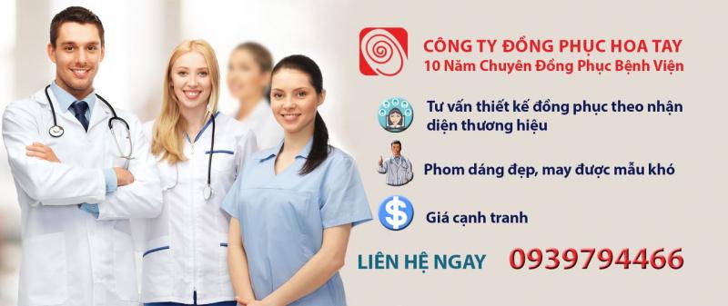 Công ty may đồng phục Hoa Tay